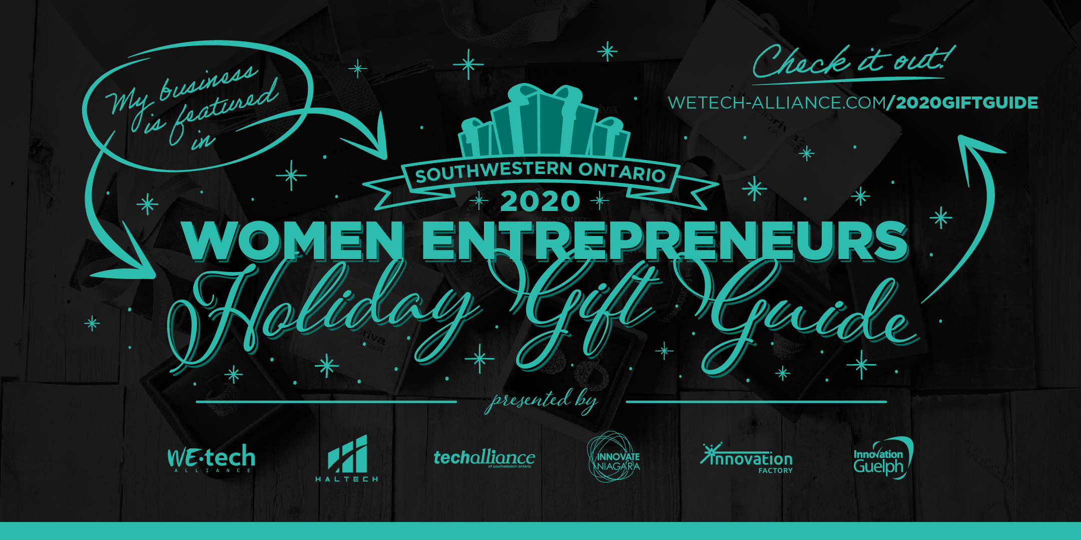 WEtech Alliance Launches Southwestern Ontario Women Entrepreneurs Holiday Gift Guide