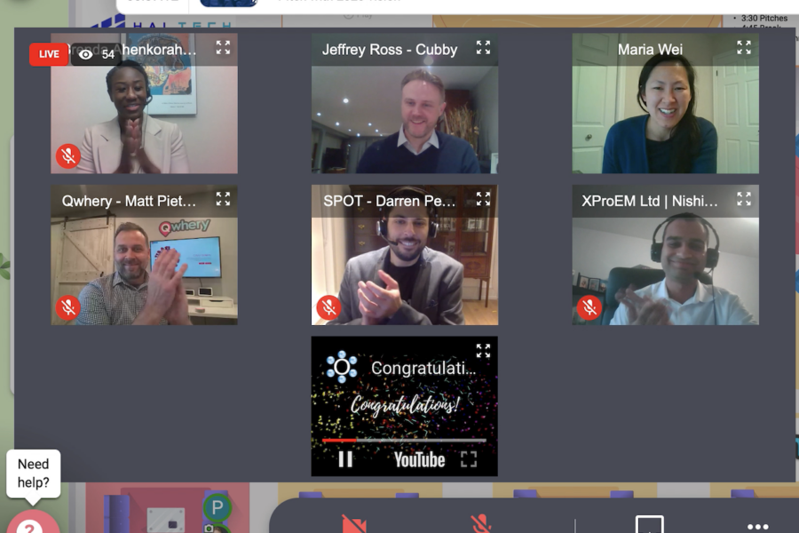 Virtual Conference with Competing Companies