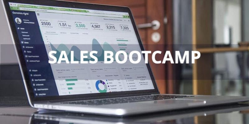 Sales Bootcamp Title Visual