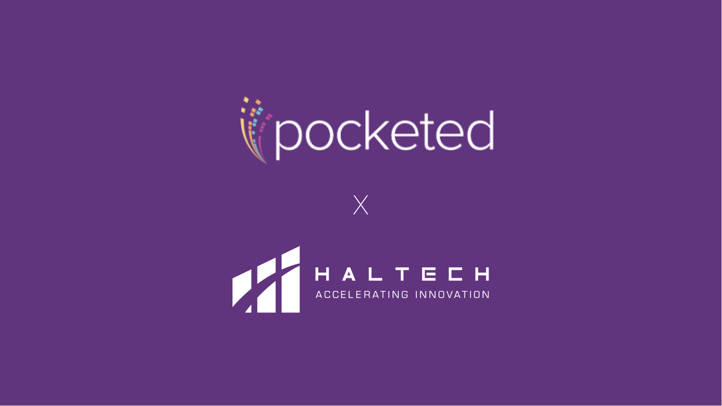 Pocketed and Haltech Logo