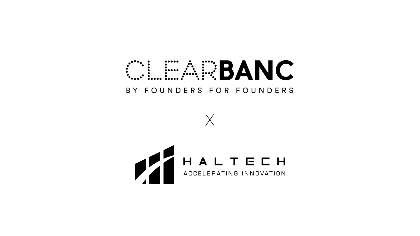 Clearbanc and Haltech Logo
