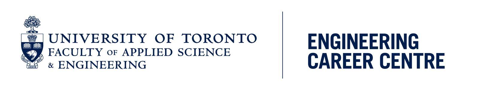 University of Toronto Engineering Career Centre Logo