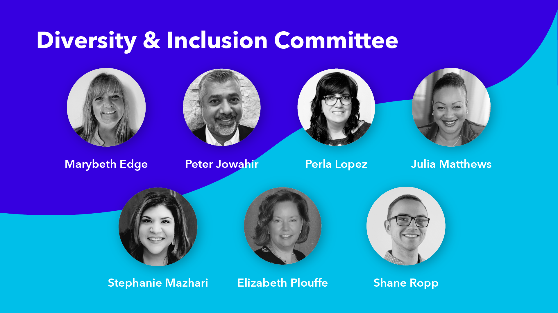 Image showing members of Haltech's Diversity & Inclusion Committee